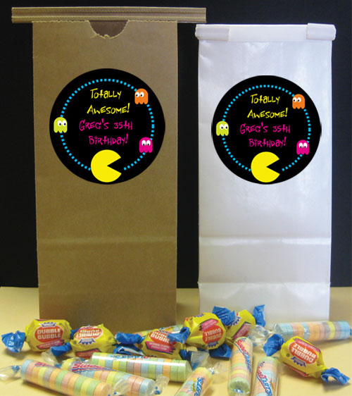 80s Theme Party Favor Bag