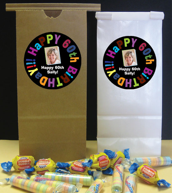 Birthday Celebration Theme Party Favor Bag