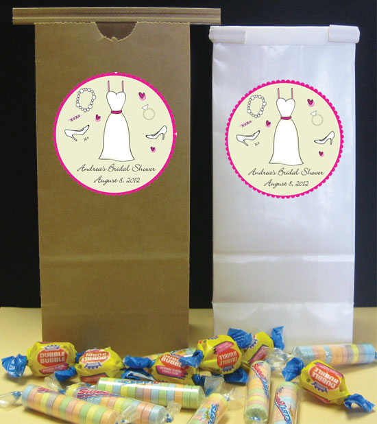 Bridal Theme Party Favor Bag