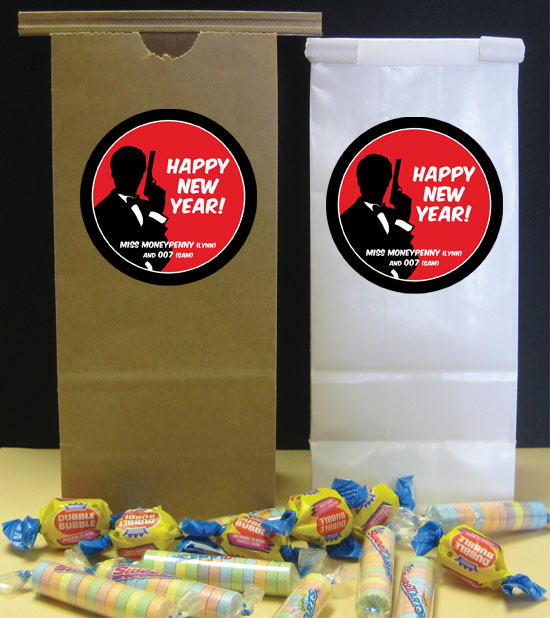 Casino Royale Theme Favor Bag