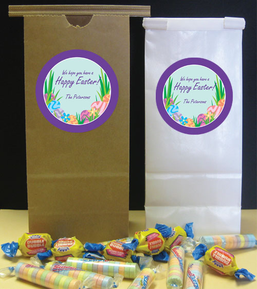 Easter Eggs Spring Theme Custom Favor Bag