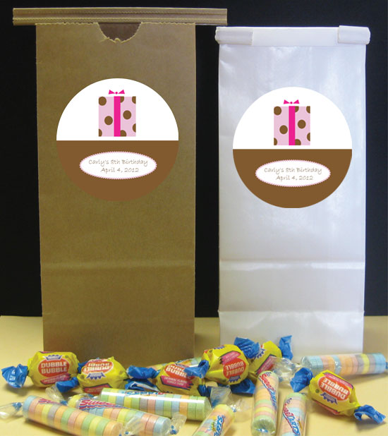 Gift Theme Party Favor Bag