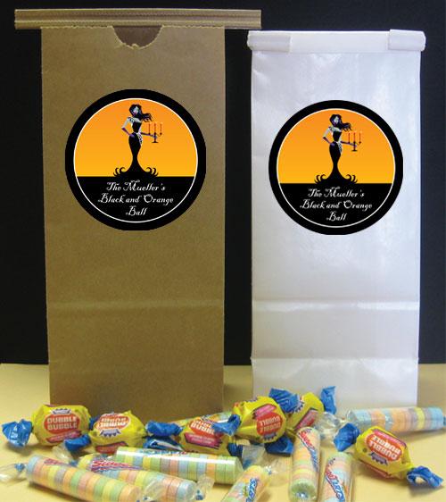 Halloween Ball Theme Favor Bag