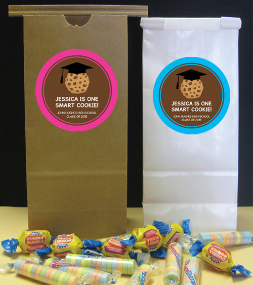 Graduation Smart Cookie Theme Favor Bag