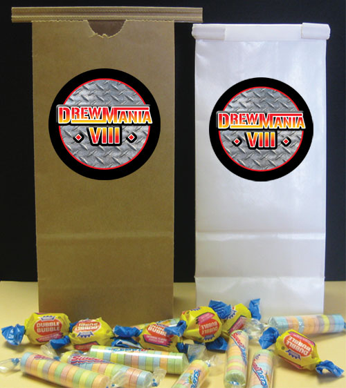 Wrestling Party Theme Favor Bag