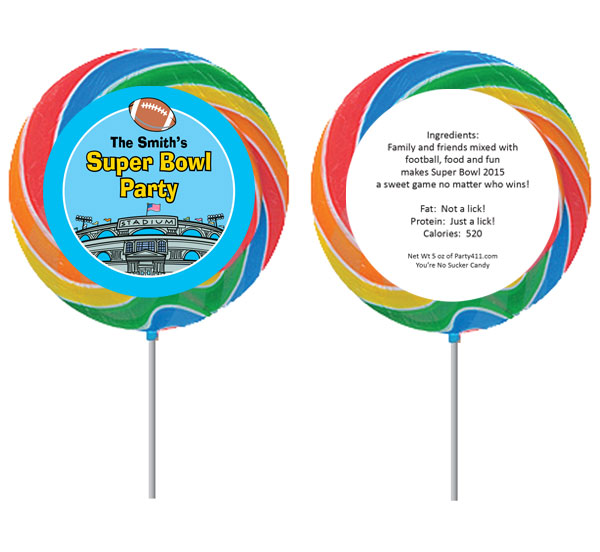 Football Stadium Theme Lollipop