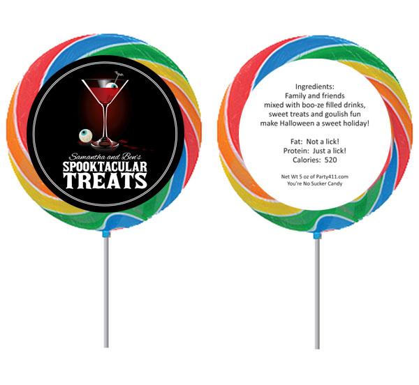 Spooky Spirits Theme Lollipop