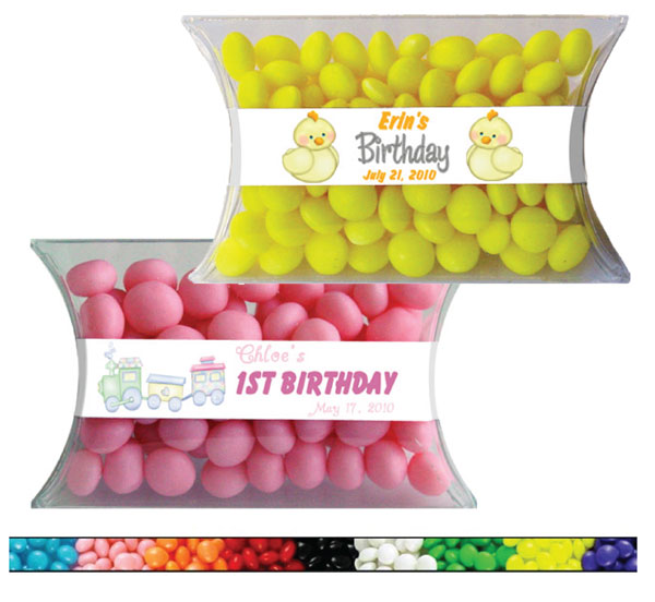 First Birthday Candy Pillow Packs