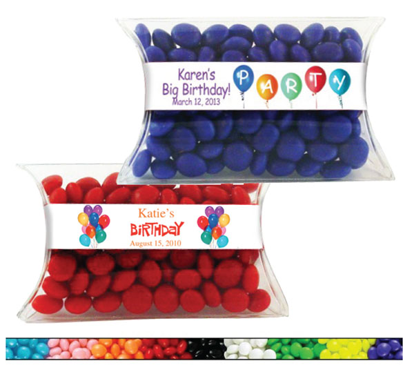 Birthday Candy Pillow Packs, Balloons