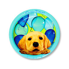 "Party Pups 9"" Plates"