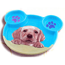 Party Pups Kids Plate