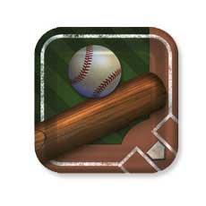 """Baseball 9"""" Plates"""