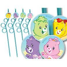 Care Bears Straws