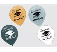 """Graduation 12"""" Balloons"""