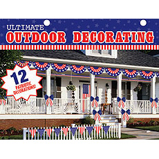 American Patriotic Decor Kit