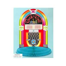 "Jukebox 10"" Centerpiece"