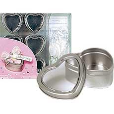 Heart Tin Favor Kit