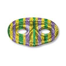 Mardi Gras Half Mask