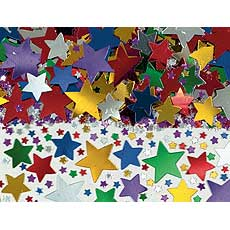 Multi Star Confetti Mix