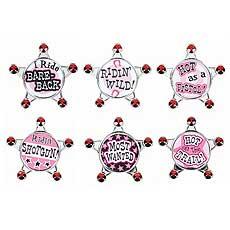 Bachelorette Party Posse Badges