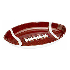 Football Chip & Dip Tray