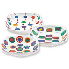 Square Nested Bowl Set