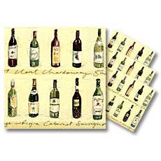 Vineyard Beverage Napkins