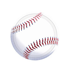 "Baseball Fan 7"" Plates"