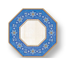 "Judaic 7"" Plates (8)"