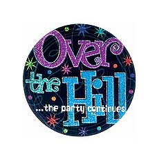 """Over The Hill 9"""" Plates"""