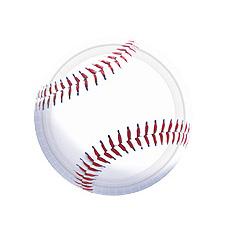 """Baseball Fan 10.5"""" Plate"""