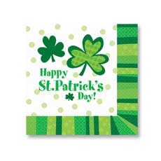 Lucky Wishes Luncheon napkin (20)