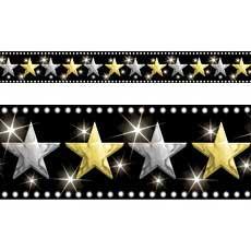 Hollywood Stars Border