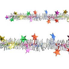 Star Fringe Garland