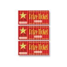 Star Prize Tickets (30)