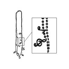 Musical Note Beads