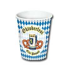Oktoberfest 9oz Cups (8)