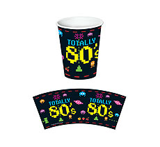 1980s Totally Rad Cups - 9oz