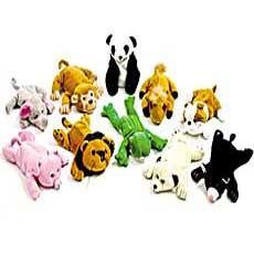 "Bean Bag Animals 8"""