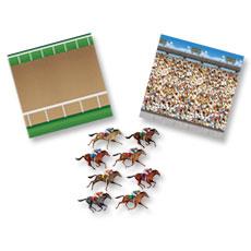 Horse Racetrack Scene Kit