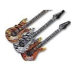 Animal Print Guitars
