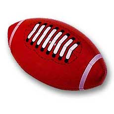 "Inflatable 13"" Footballs"