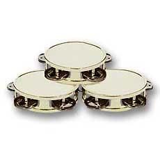 Silver Mini Tambourines