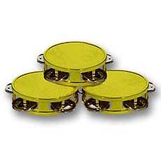 Gold Mini Tambourines