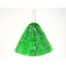 Green Pom Poms