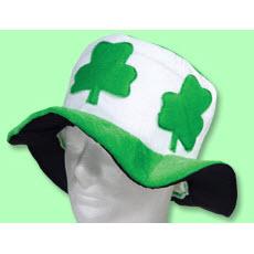 Shamrock Velvet Hat