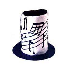 Music Note Hat