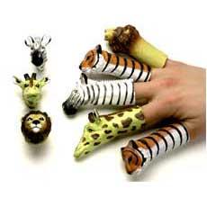 "Animal Finger Puppets 3"""