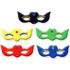 Flocked Cat Eye Masks