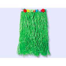 Green Flower Hula Skirt